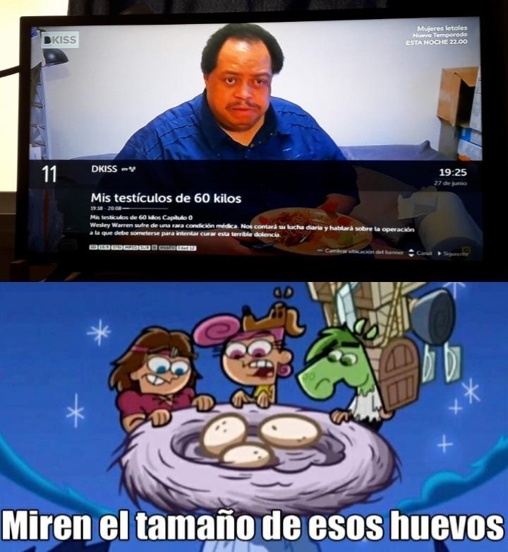Top Memes De Miren El Tamaño De Esos Huevos En Español Memedroid