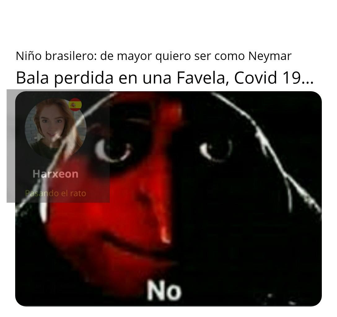 O Dura vidinha do Brasilero - meme