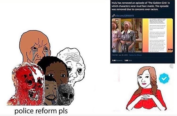 Police Reform? - meme