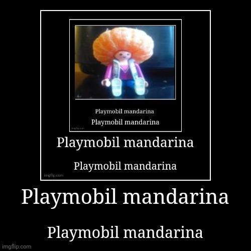 Playmobil mandarina - meme