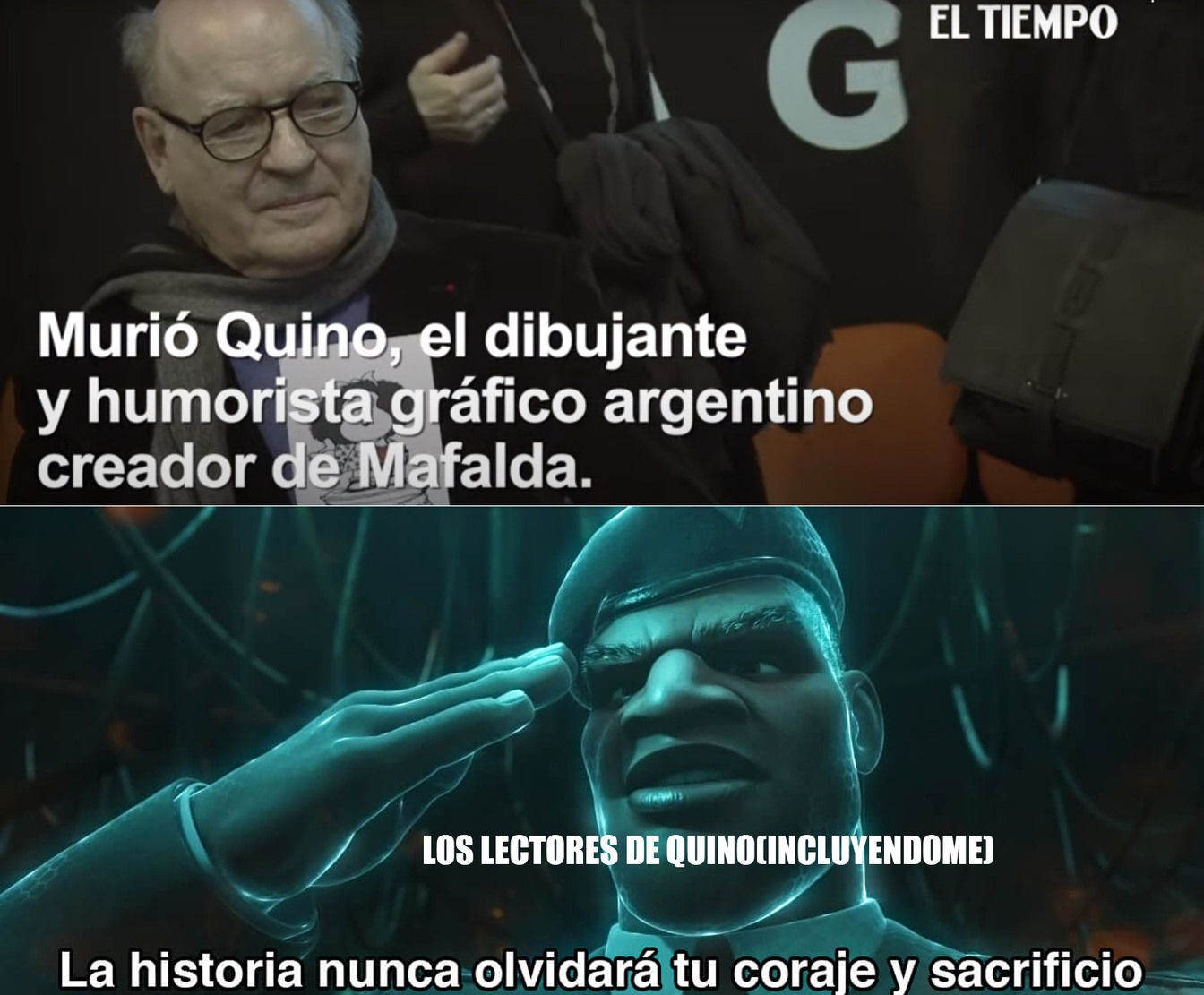 SIN MARCA DE AGUA PARA HONRAR SU MEMORIA - meme
