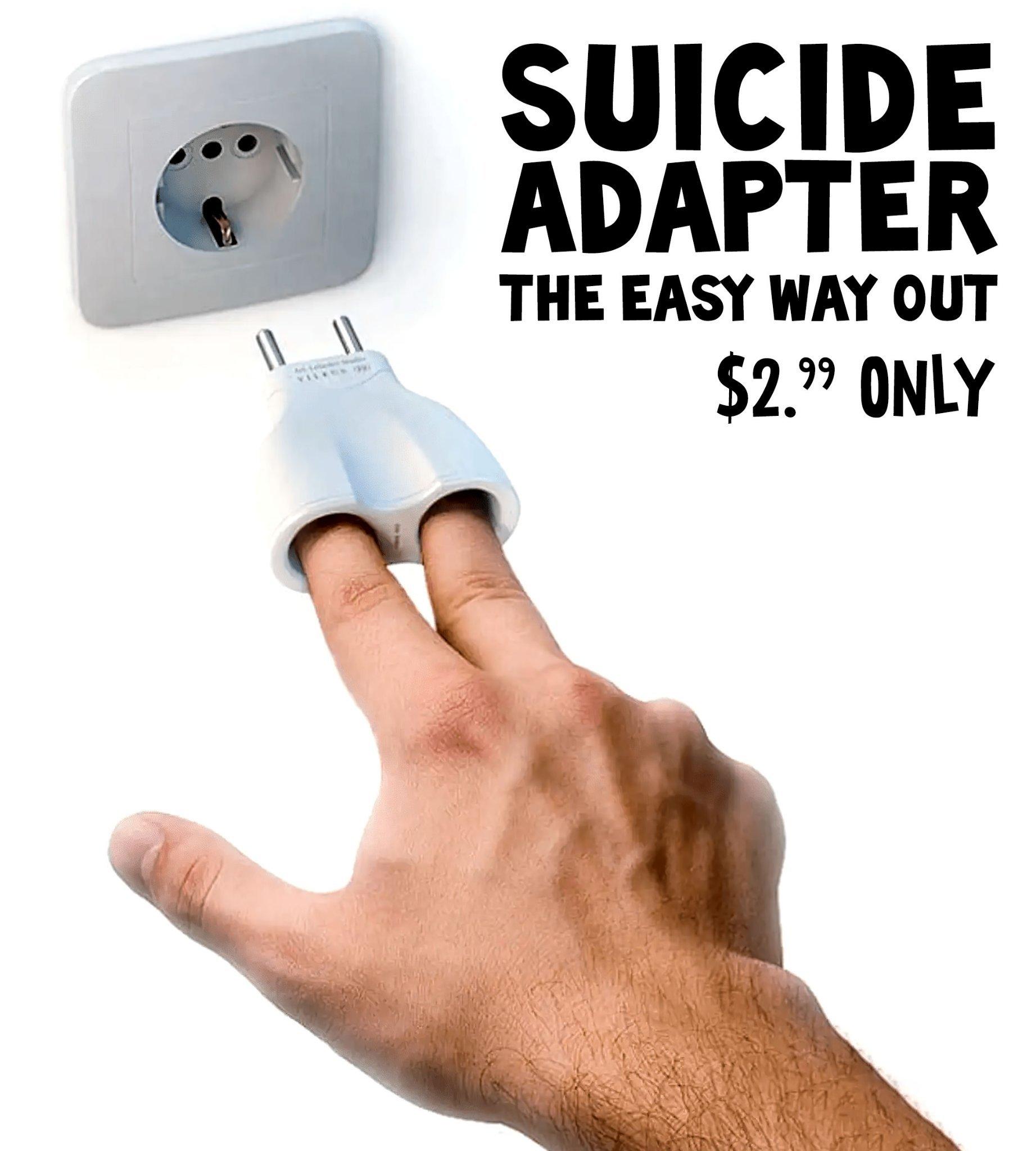 C'est l'heure du suicides - meme