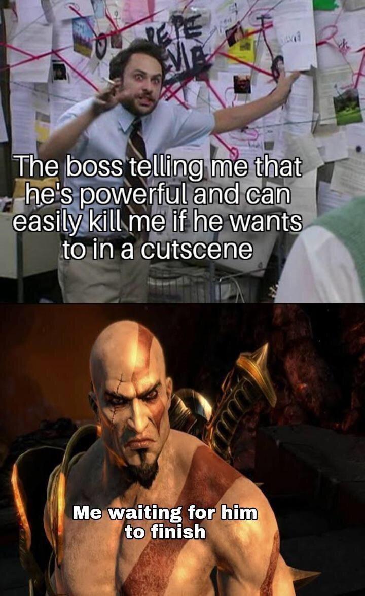 kreeetos has killed gods - meme