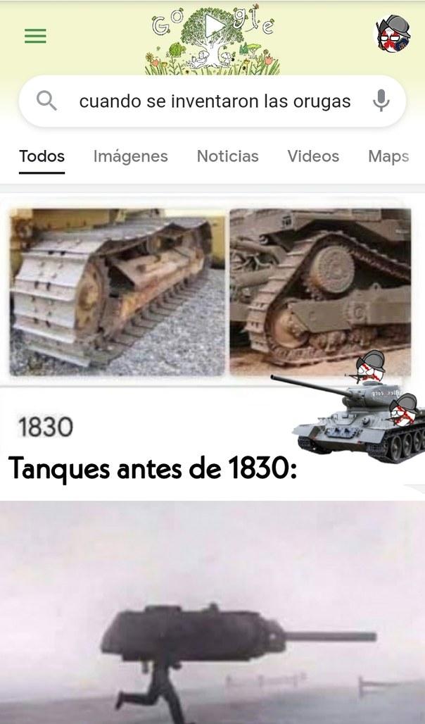 El título se fue en un tanque - meme