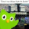 Última aula de árabe