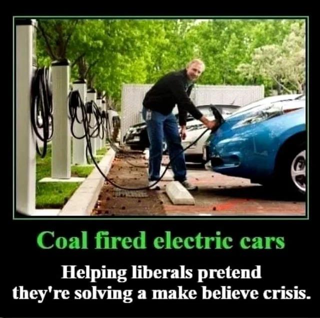 Electric cars suck - meme
