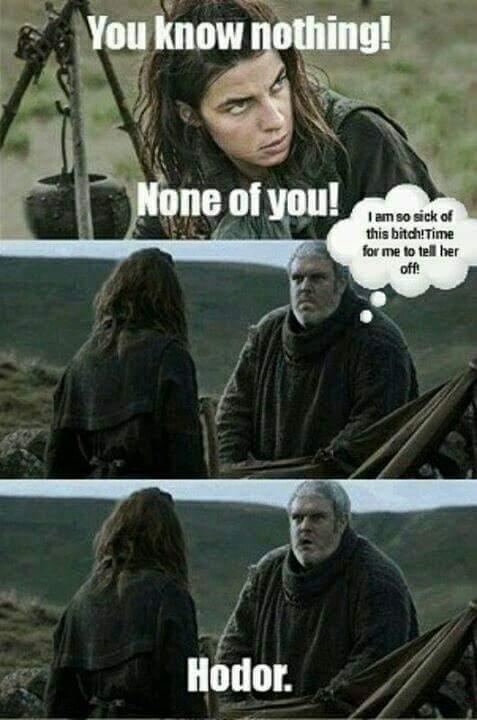 Hodor. - meme