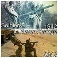War never change