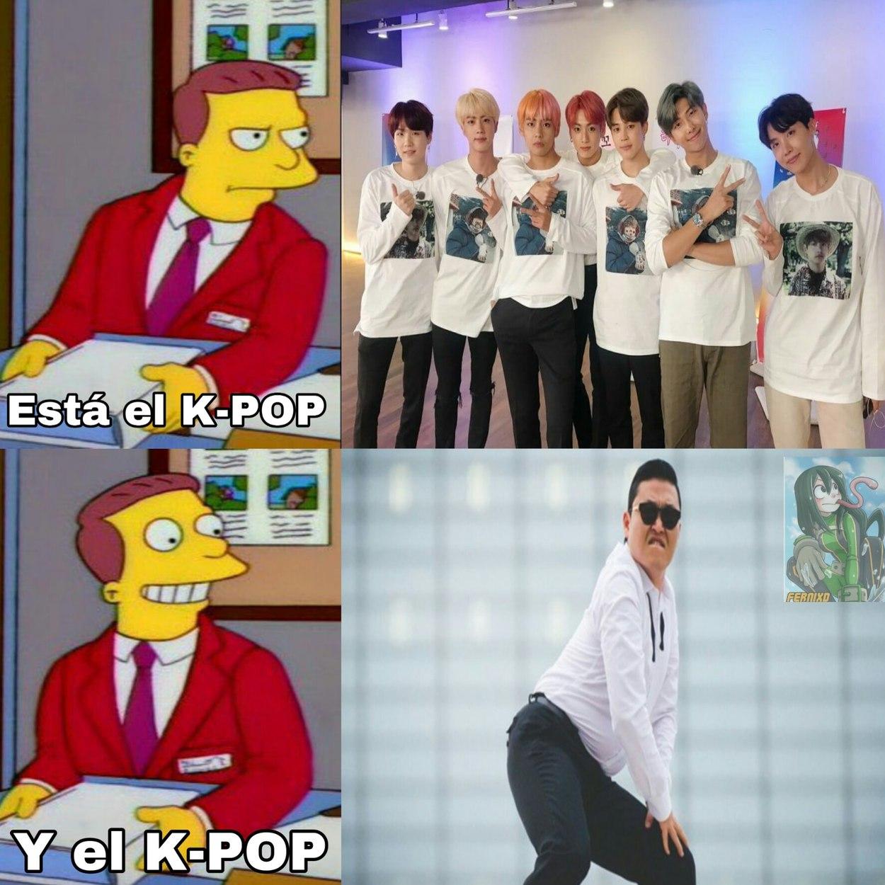 Ese k-pop si se puede ver :sweet: - meme