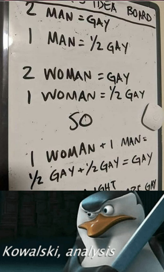 Hetero became homo - meme