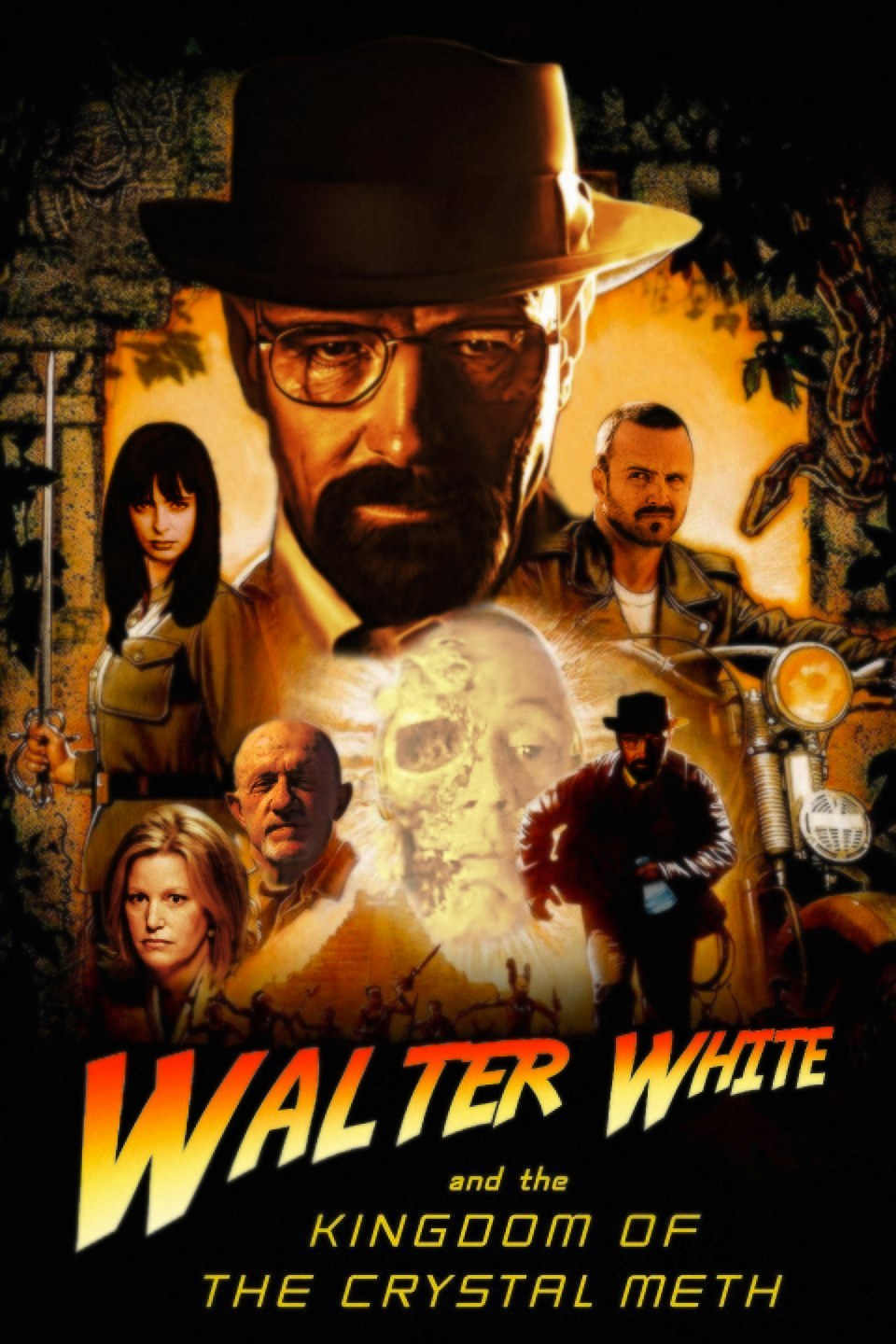 Walter White and the Kingdom of Crystal Meth - meme