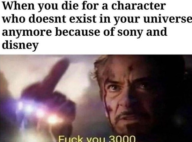 In that case. Thanos never killed spiderman - meme
