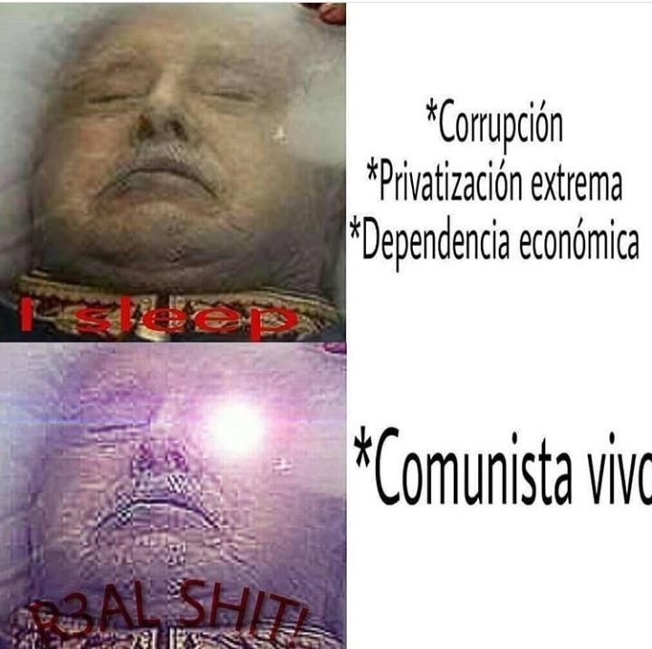 Allende pa mi huerto Pinochet para mi cielo - meme