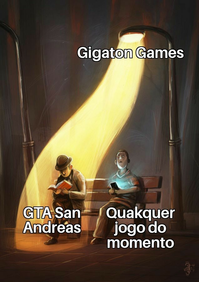 Segredos Gigatonicos - meme