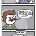 overprotective mom