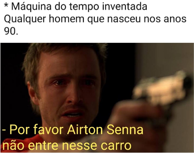 Airton Senna da Silva - meme