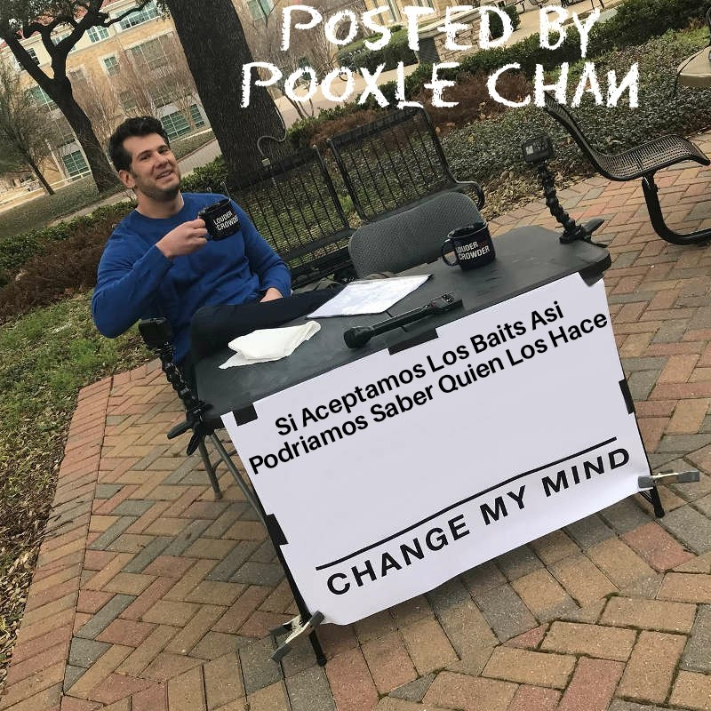 Estupidos Baits - meme