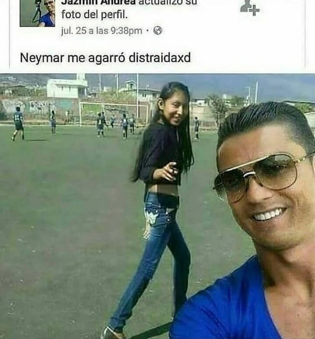 Ese no es neymar  - meme