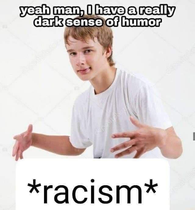 CEO of racism - meme