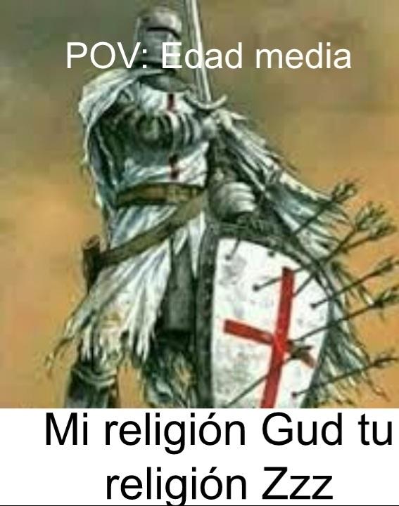 Edad Media resumida - meme