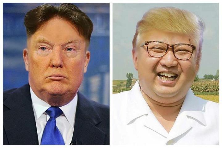 Kim jong Trump - meme