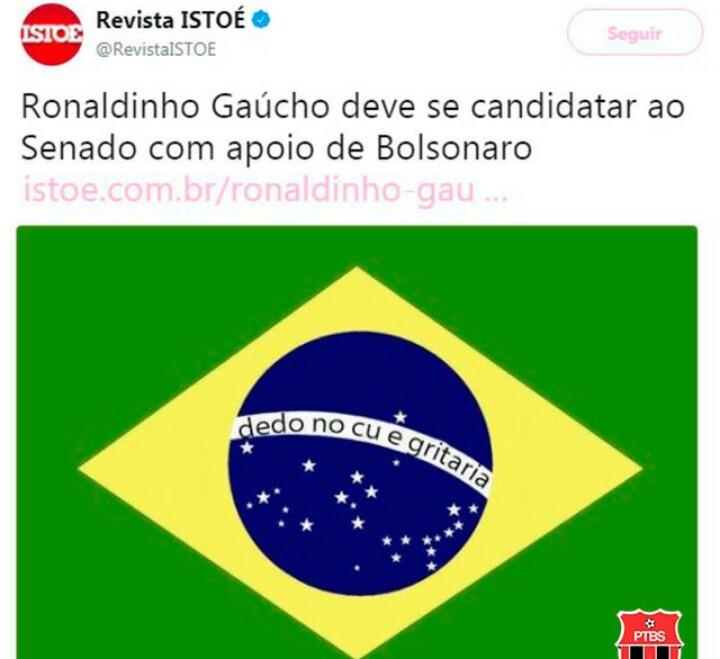O Brasil vai virar um cabaré - meme