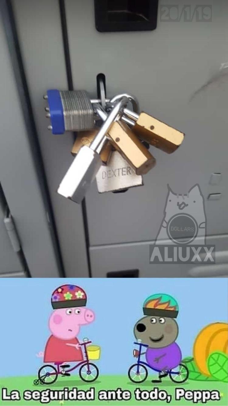 las mejores técnicas para perder el locker - meme