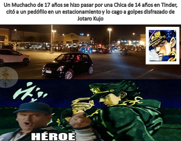 Héroe sin duda - meme