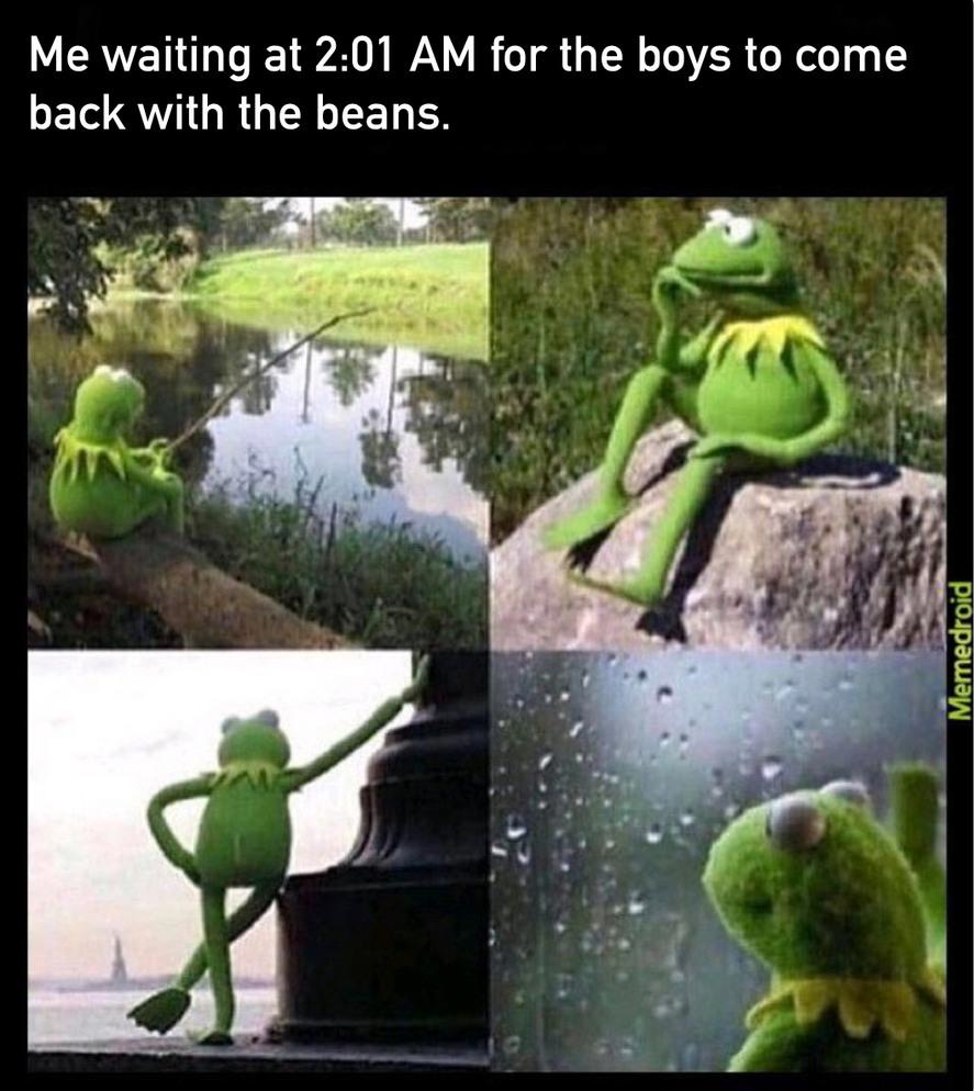 Beans - meme