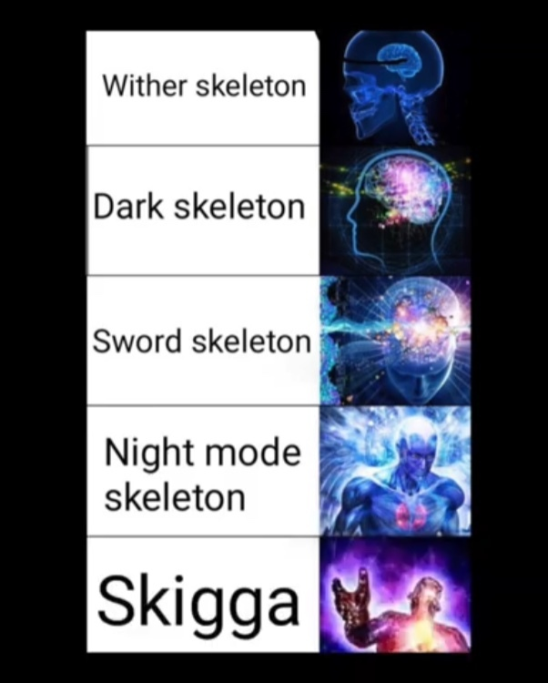 yeah big brain - meme