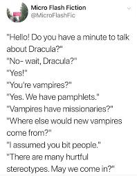 bruh vampire - meme