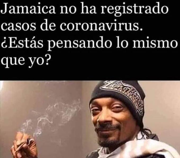 A vivir a Jamaica - meme