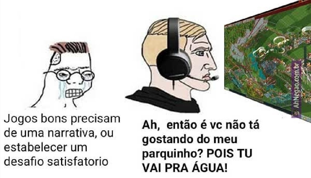 É ÁGUA MERMÃO - meme