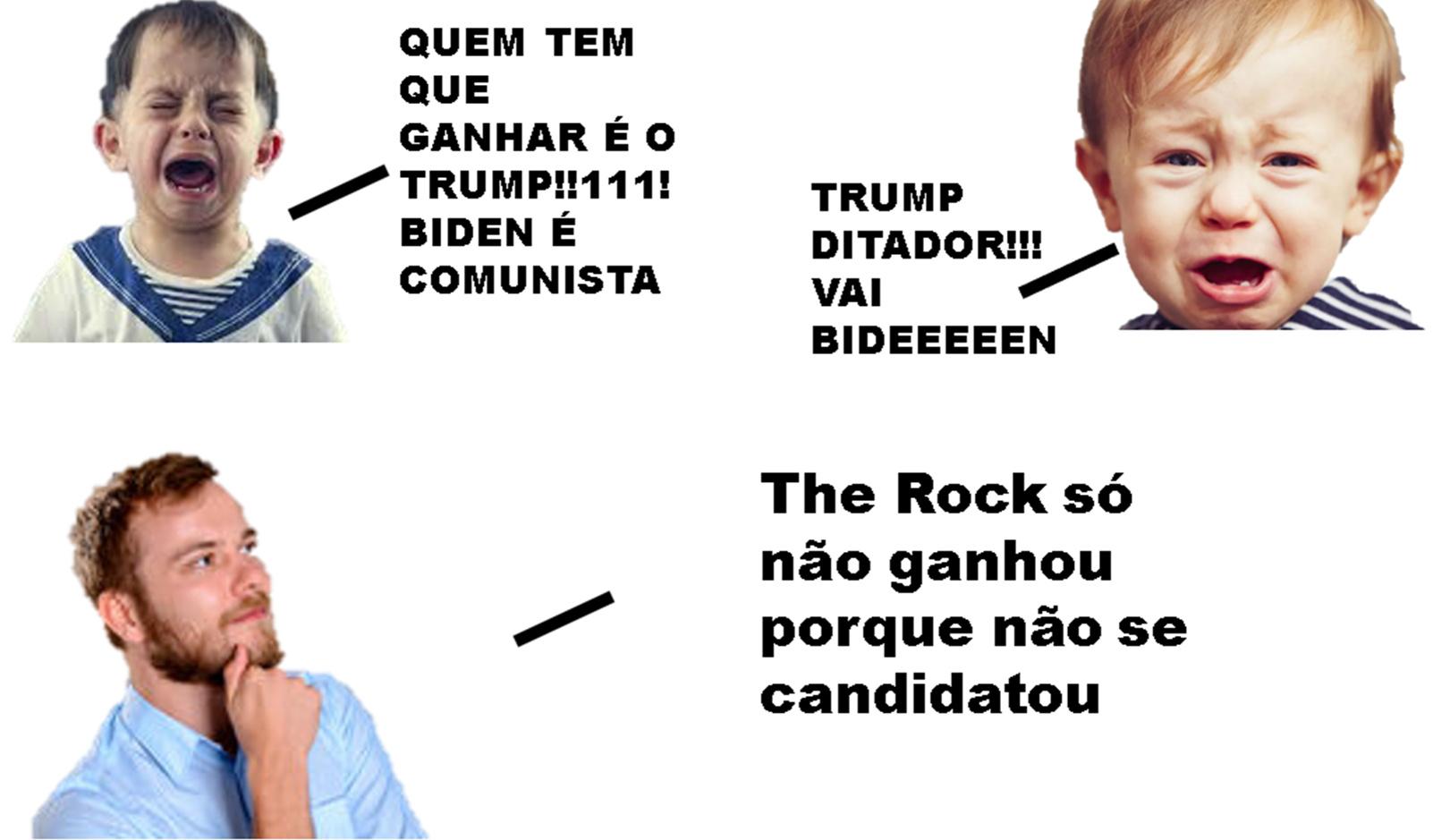 the rock presidente 2024 - meme
