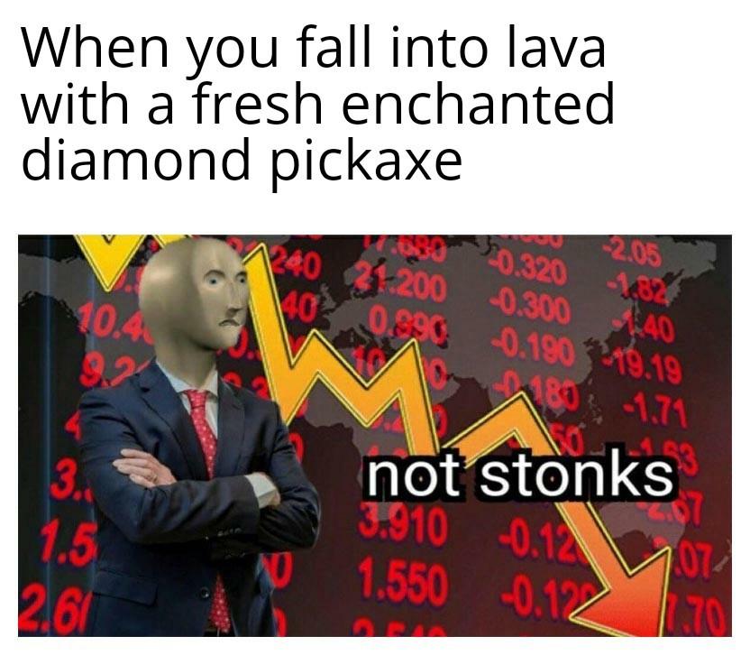 Sad meme man