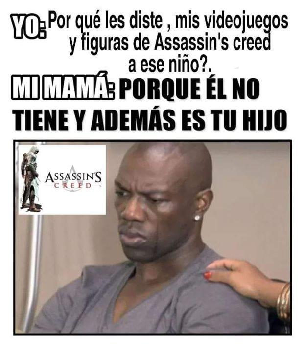 Assasin credd - meme