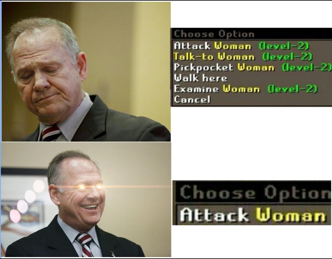 Roy Moore - meme