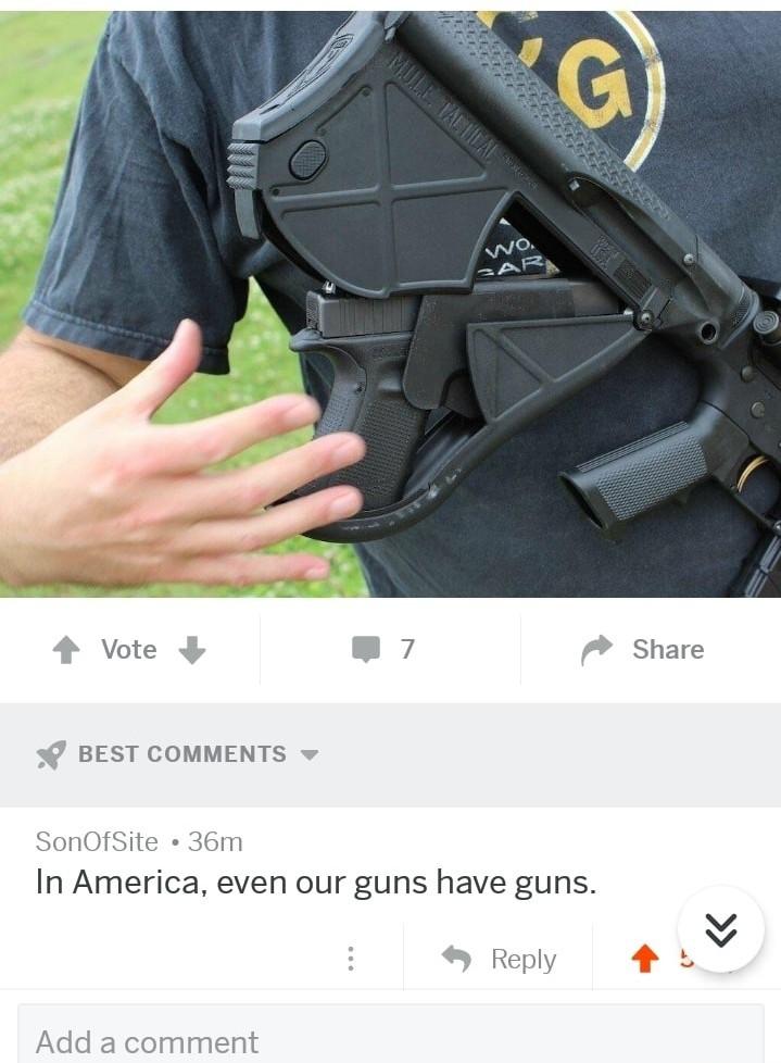 America's Guns - meme