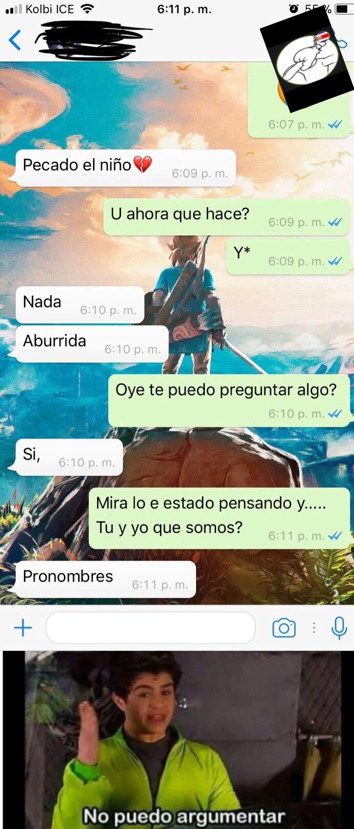 Pronombres :( - meme