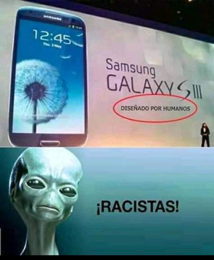 Pobres aliens XF - meme