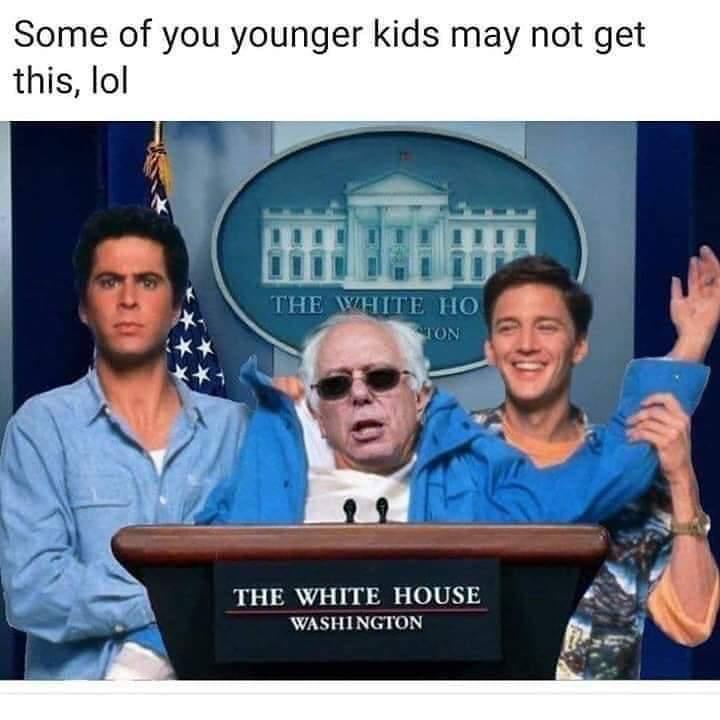 Weekend at Bernie's! - meme