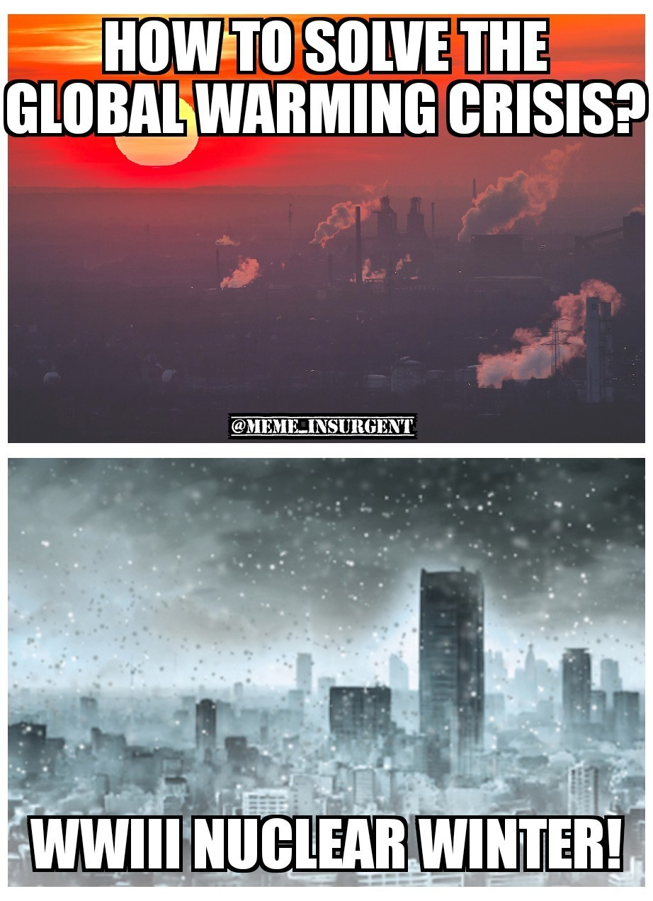 Global Warming Solved! - meme