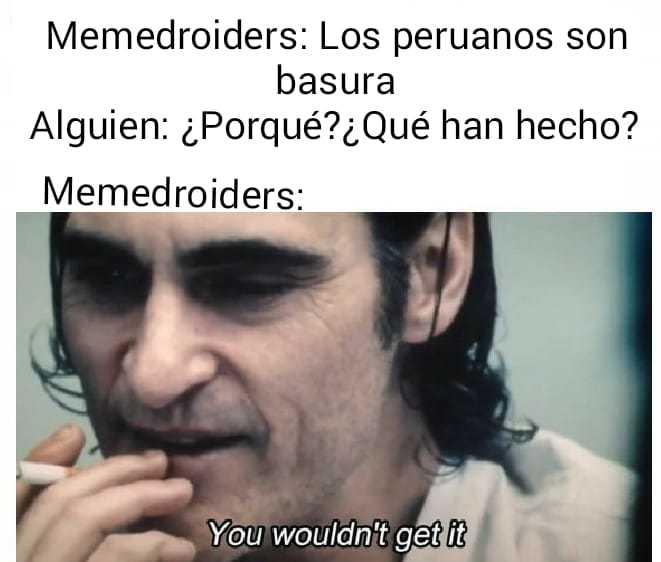 Joker tiene descendencia peruana(? - meme