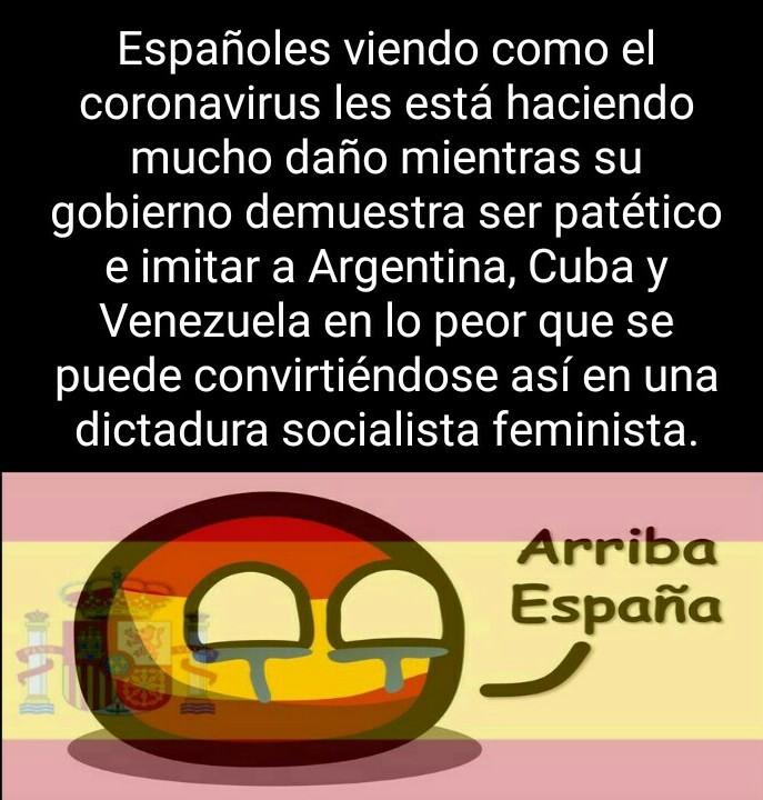 ¡Fuerza España! - meme