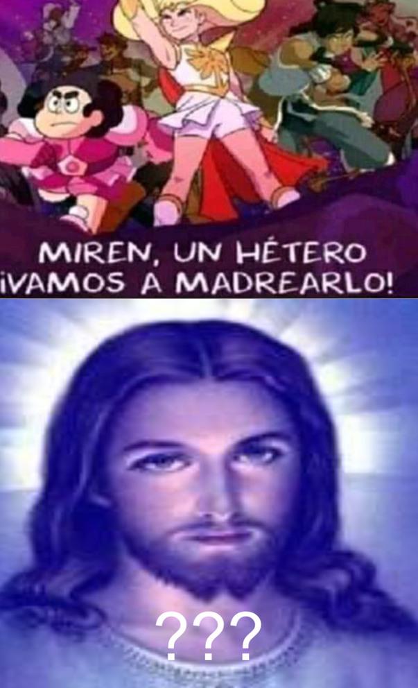 Jajaja Jesús mándalos a todos al infierno - meme