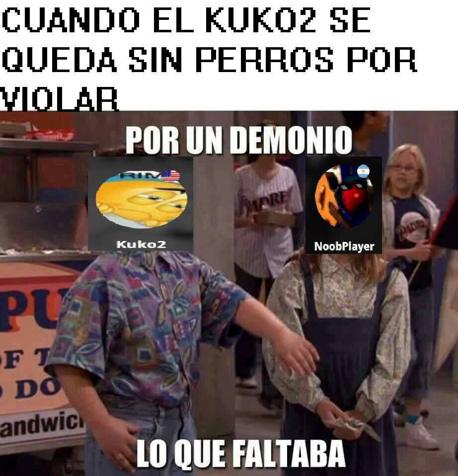 KUKO EL HOMOSEXUAL DEL BARRIO CUANDO LO DESTROZO CON ARGUMENTOS. KUKO: BUUUUAAAAA - meme