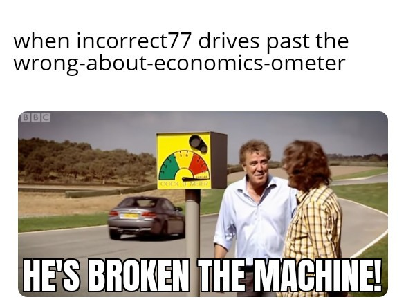 Hammond's M3 breaks the cockometer - meme