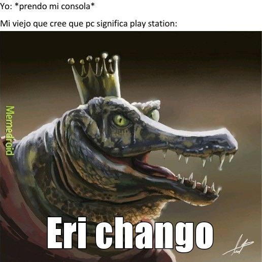 Chango - meme