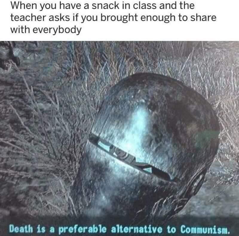 Fuckin commies - meme