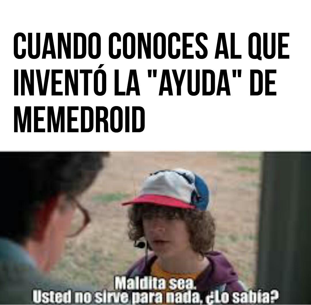 Inutil - meme